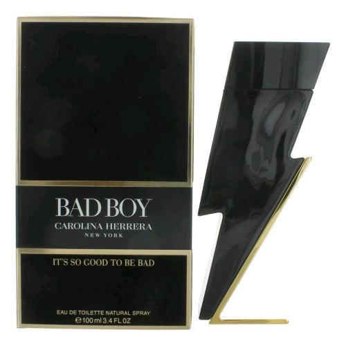 CAROLINA HERRERA BAD BOY 3.4 EAU DE TOILETTE SPRAY