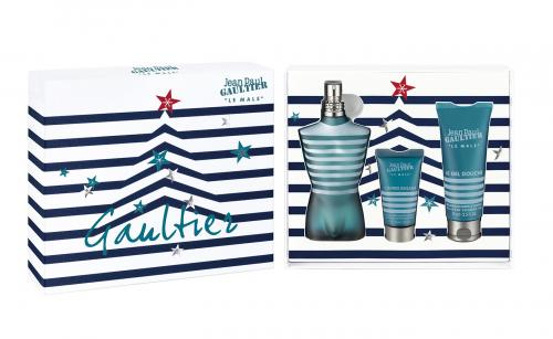 JEAN PAUL GAULTIER 3 PCS SET FOR MEN: 4.2 EDT SP + 1 OZ ASB