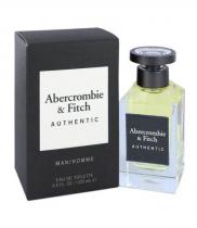 ABERCROMBIE & FITCH AUTHENTIC 3.4 EAU DE TOILETTE SPRAY FOR MEN