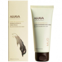 AHAVA LEAVE ON DEADSEA MUD DERMUD INTENSIVE HAND CREAM 3.4 OZ