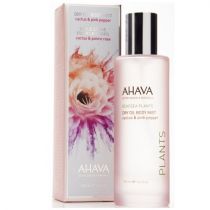 AHAVA DEADSEA PLANTS DRY OIL BODY MIST CACTUS & PINK PEPPER 3.4 OZ