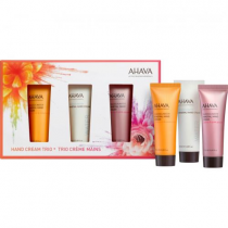 AHAVA DEADSEA WATER MINERAL HAND CREAM TRIO