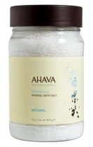 AHAVA DEADSEA SALT MINERAL BATH SALT NATURAL 32 OZ