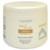 ALFAPARF SEMI DI LINO DIAMOND FOR NORMAL HAIR ILLUMINATING MASK 17.3 OZ