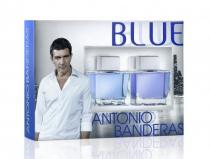 ANTONIO BANDERAS BLUE SEDUCTION 2 PCS SET FOR MEN: 3.4 SP