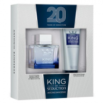 ANTONIO BANDERAS KING SEDUCTION 2 PCS SET: 3.4 SP (WINDOW BOX)