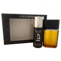 AZZARO 2 PCS SET FOR MEN: 3.4 EAU DE TOILETTE SPRAY + 5.1 DEODORANT SPRAY