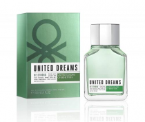 BENETTON UNITED DREAMS BE STRONG 3.4 EAU DE TOILETTE SPRAY FOR MEN