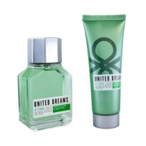 BENETTON UNITED DREAMS BE STRONG 2 PCS SET FOR MEN: 3.4 SP
