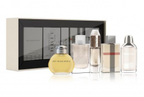 BURBERRY 5 PCS MINI SET FOR WOMEN