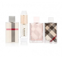 BURBERRY 4 PCS MINI SET FOR WOMEN
