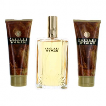 CAESARS 3 PCS SET FOR WOMEN: 3.4 EDP SP (WINDOW BOX)