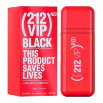 212 VIP RED BLACK 3.4 EAU DE PARFUM SPRAY FOR MEN