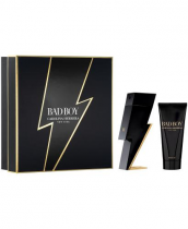 CH BAD BOY 2 PCS SET: 3.4 EAU DE TOILETTE SPRAY + 3.4 SHOWER GEL (HARD BOX)