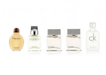 CALVIN KLEIN 5 PCS * 15 ML MINI SET FOR MEN