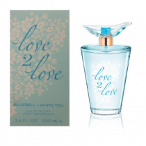 COTY LOVE 2 LOVE BLUEBELL + WHITE TEA 3.4 EDT SP