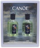 CANOE 2 PCS SET FOR MEN: 2 OZ EDT SPL + 2 OZ AFTER SHAVE (STORE RETURNS)