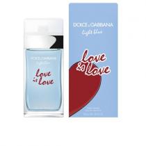DOLCE & GABBANA LIGHT BLUE LOVE IS LOVE 3.4 EDT SP FOR WOMEN