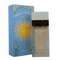 DOLCE & GABBANA LIGHT BLUE SUN 0.85 EDT SP FOR WOMEN