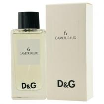 DOLCE & GABBANA # 6 L'AMOUREUX POUR HOMME 3.4 EDT SP