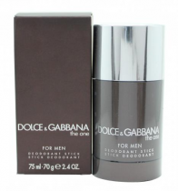 DOLCE & GABBANA THE ONE 2.4 OZ DEODORANT STICK FOR MEN