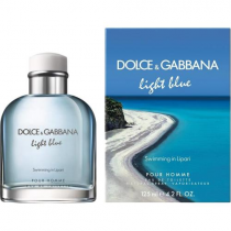 DOLCE & GABBANA LIGHT BLUE SWIMMING IN LIPARI 4.2 EDT SP FOR MEN