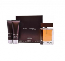 DOLCE & GABBANA THE ONE 3 PCS SET FOR MEN: 3.4 SP (TRAVEL SET)