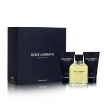 DOLCE & GABBANA 3 PCS SET FOR MEN: 4.2 SP (TRAVEL SET)