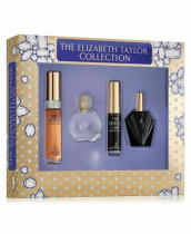 ELIZABETH TAYLOR 4 PCS SET FOR WOMEN: WHITE DIAMONDS 0.5 OZ EAU DE TOILETTE SPRAY + FOREVER ELIZABETH 0.33 OZ EAU DE TOILETTE SPRAY + WHITE DIAMONDS NIGHT 0.33 OZ EAU DE TOILETTE SPRAY + PASSION 0.5 OZ EAU DE TOILETTE SPRAY (WINDOW BOX)