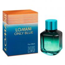 LOMANI ONLY BLUE MAGNET 3.3 EAU DE TOILETTE SPRAY FOR MEN