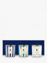 JO MALONE 3 PCS DECORATED CANDLE SET: LIME BASIL & MANDARIN + ENGLISH PEAR & FREESIA + PEONY & BLUSH SUEDE