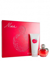 NINA BY NINA RICCI 2 PCS SET: 2.7 EAU DE TOILETTE SPRAY + 6.7 BODY LOTION
