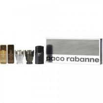 PACO RABANNE 5 PCS MINI SET FOR MEN (INDIVIDUALLY BOXED)