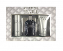 GUESS DARE 3 PCS SET: 3.4 EDT SP FOR MEN