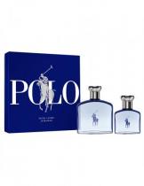POLO ULTRA BLUE 2 PCS SET: 4.2 EAU DE TOILETTE SPRAY + 1.36 EAU DE TOILETTE SPRAY (HARD BOX)