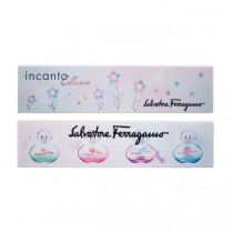 SALVATORE FERRAGAMO INCANTO 4 PCS MINI SET