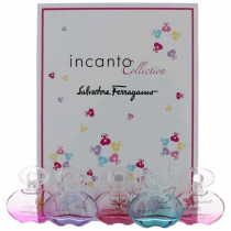 SALVATORE FERRAGAMO INCANTO 5 PCS MINI SET