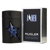 ANGEL 3.4 EAU DE TOILETTE SPRAY REFILLABLE FOR MEN RUBBER
