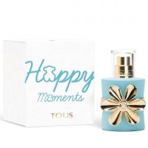 TOUS HAPPY MOMENTS 1 OZ EAU DE TOILETTE SPRAY FOR WOMEN