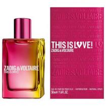 ZADIG & VOLTAIRE THIS IS LOVE 1.7 EAU DE PARFUM SPRAY FOR WOMEN